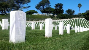 Arlee D. Walker and his wife rest here at Fort Roscrans National Cemetery