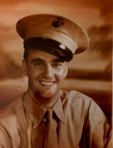 Arlee D. Walker in uniform